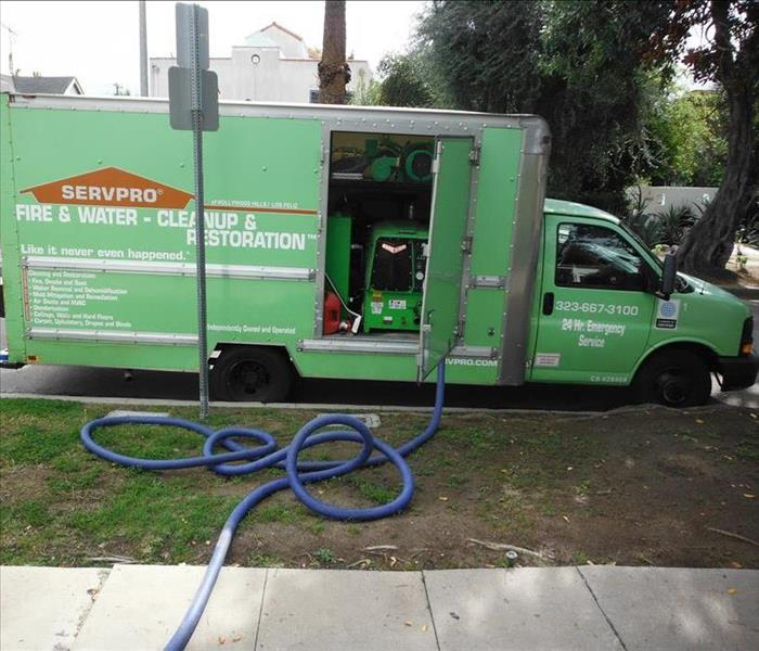Water Extraction- Los Angeles