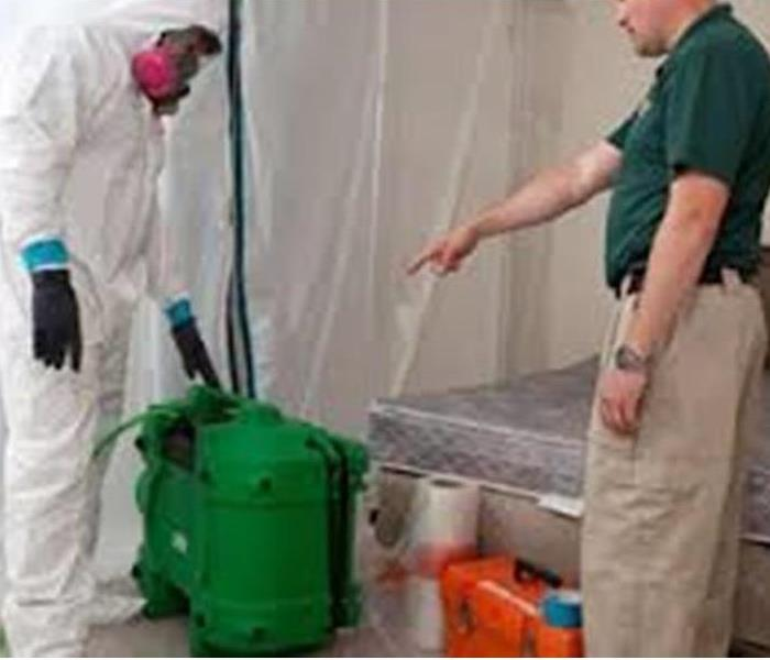 Mold Remediation Let the Professionals at SERVPRO Get Rid of the Mold in your Home or Business